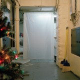 "untitled 62 (curtain) : 2012, 16""x16"", from the series 'Basement Sanctuaries'"