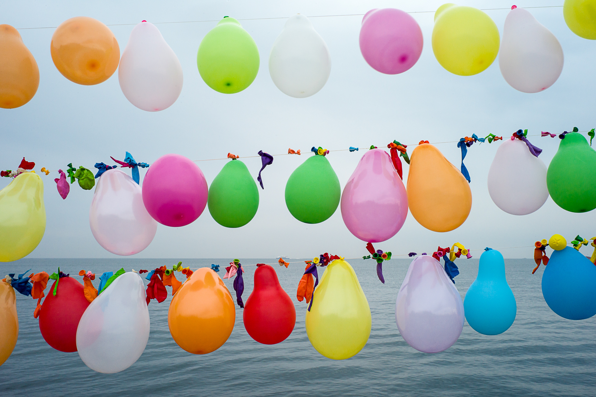 Balloons : Shooting gallery in Istanbul