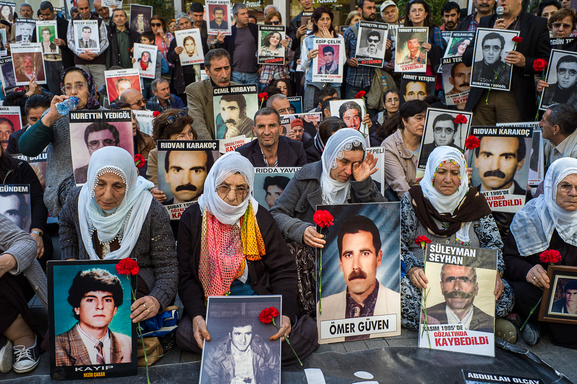 Memories : Kurdish demontration in Istanbul