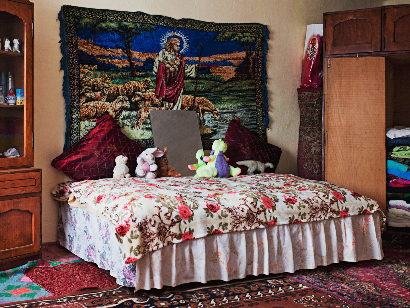 Laurentiu's Marital Bedroom : Be Good is a series about underage married Roma teenagers from Romania