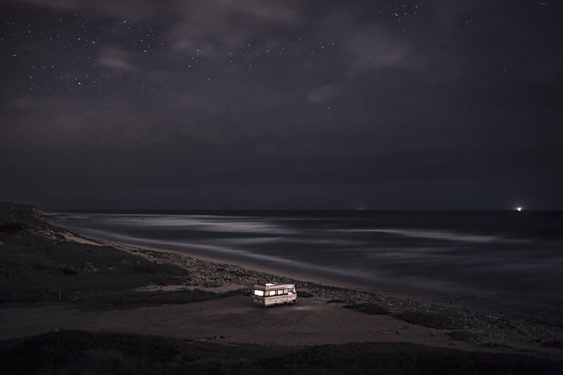 A Van in the Sea 11 : In 2011 I decided to buy an old(but super well constructed) motorhome Hymer 1983 and move it along the south coast of Portugal in some of my favorite places along the european coast. I did that just to be able to take care of my personal photography project and also… because I just wanted to do what I like. Here is a small series of images taken in 2013 before to go to sleep.