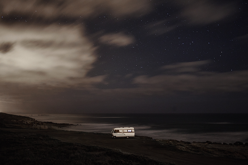 A van in the sea 26 : In 2011 I decided to buy an old(but super well constructed) motorhome Hymer 1983 and move it along the south coast of Portugal in some of my favorite places along the european coast. I did that just to be able to take care of my personal photography project and also… because I just wanted to do what I like. Here is a small series of images taken in 2013 before to go to sleep.