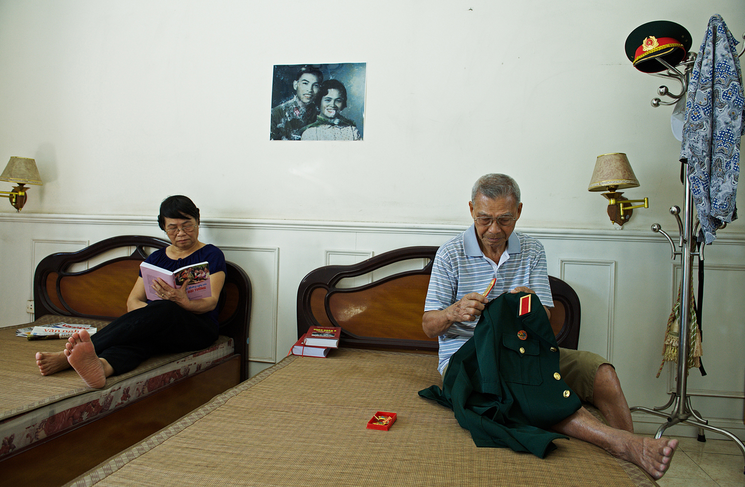 Destiny3 : In the bedroom of General Huy and his wife (Mrs Minh Thuan). Taken at his home, 11. 2014.
