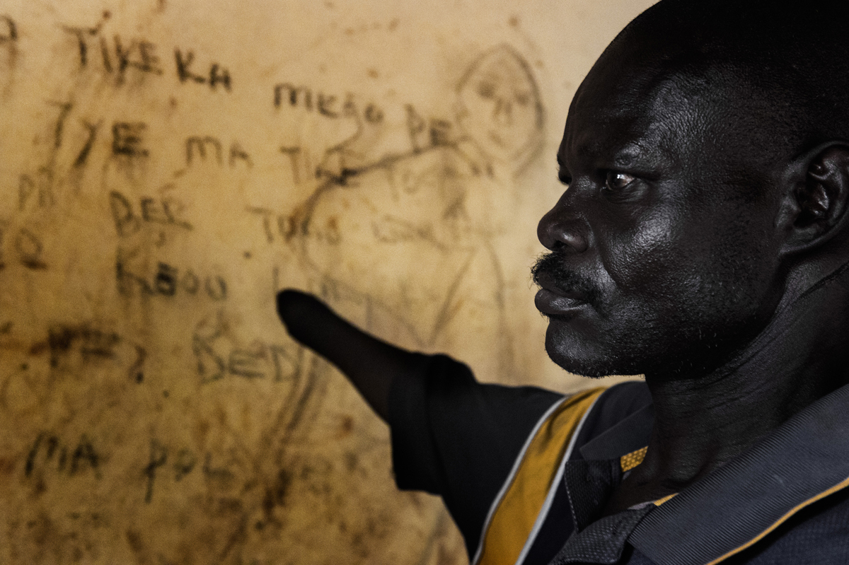 Life after Kony : Consi | 45 | married    ...with 7 children he lost most of his relatives during war.  Right hand cut off as a way of disciplinary action by rebels in 1991 together with 2 village mates, claiming that village members had bows and supposedly planning to attack them.