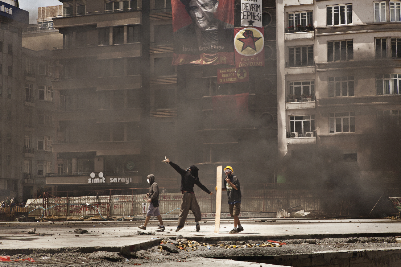 After laughters comes tears : Taksim unrest, Istanbul 2013