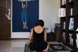 The blind-08 : 'The blind' is a photo book about 12 Iranian women who live alone. Although there is social stigma,the number of single women who choose this lifestyle is growing these days.