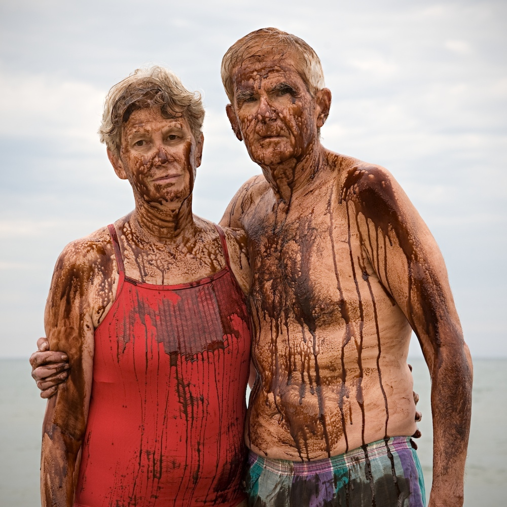 Jean and Jordan : Crude Awakening ~  Living on the shores of Lake Michigan, I am acutely aware of the disastrous toll the oil spill in the Gulf of Mexico has taken on all forms of life, especially as our beaches opened to the 2010 swimming season. This environmental, social and economic catastrophe highlights a much larger problem that has inflicted untold suffering as we exploit the earth�s resources worldwide.  We are all responsible for leading lives that create demand for unsustainable energy. We are also all responsible for the solution and we must work together to protect the balance of life.