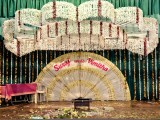 Ernakulam, 2010. : This from the series Matrimania. I have been documenting wedding sets and little associated details at Indian weddings because I find them to be fascinating metaphors of my country's penchant for order and chaos; colour and noise; and the peculiar sense of taste and design.