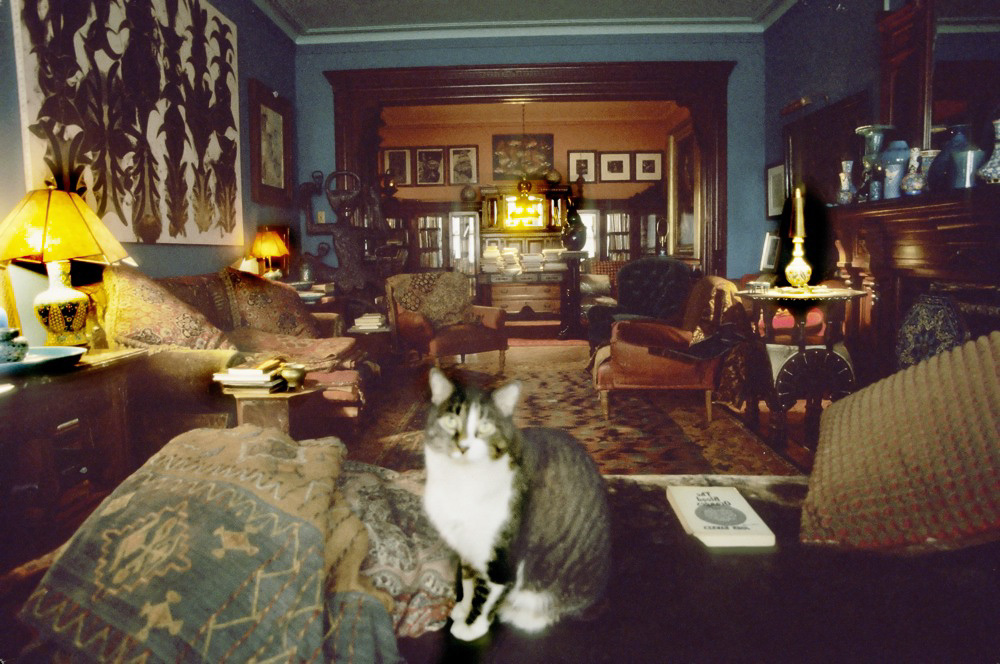 Virgil Thompson's Room, Chelsea Hotel, 2001 : The  Chelsea Hotel was built in 1883 as a unique oasis of individuality, acceptance and freedom as one of the first apartment houses with a cafeteria and a ballroom.