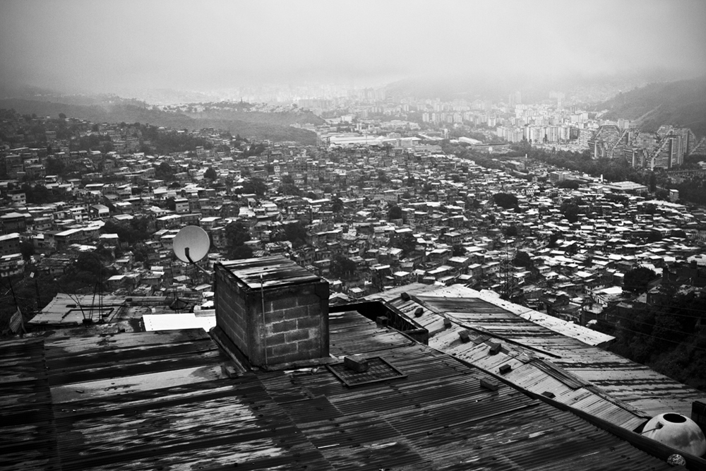 02.- View of Caracas. : View of Caracas from its north-west neighborhood of Carapita. Venezuelan capital have become one of the most dangerous cities in the world with more than 4.000 homicides per year for less than 5 millions inhabitants.