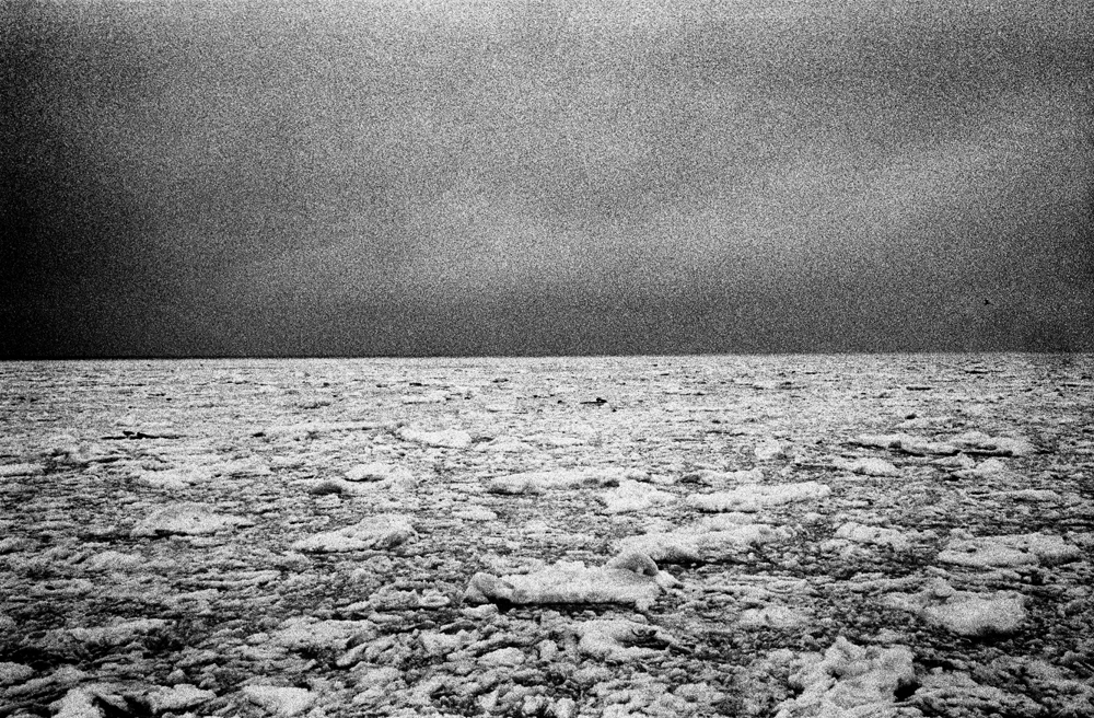 Untitled, from the Swell series, 2012 : Frozen sea. After season at the Baltic Sea, Poland.